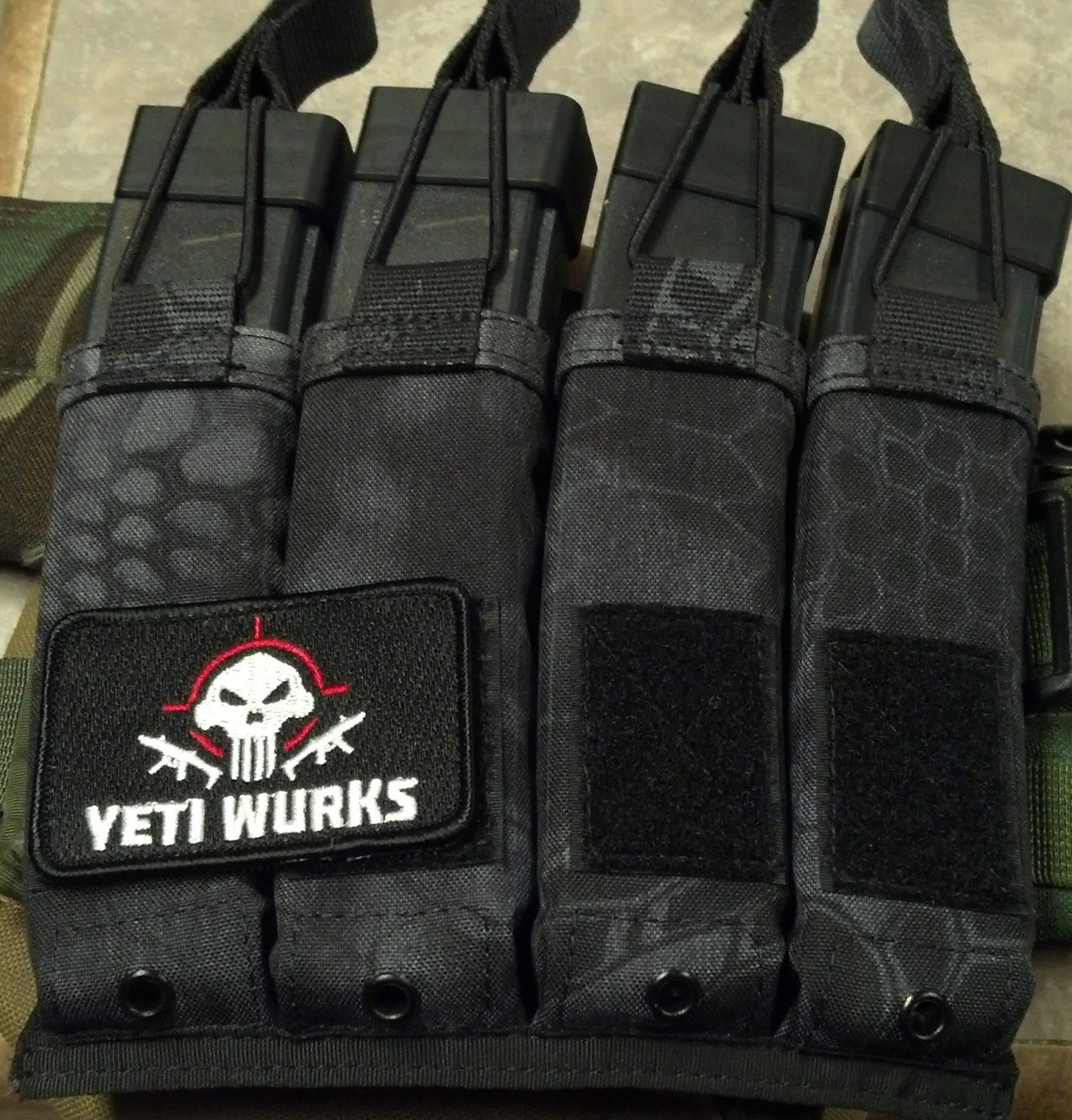 Yeti Wurks Sherpa Scorpion Magazine Pouches The