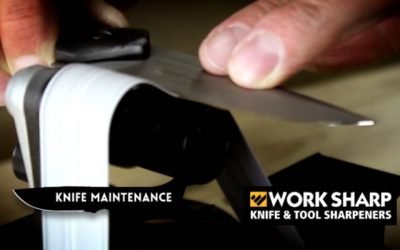 Knife Maintenance Month: Sharpening with the Work Sharp Ken Onion Edition
