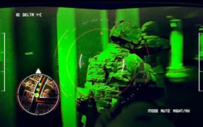 Watch the Army's Tactical Augmented Reality Heads-Up Display Tech in Action