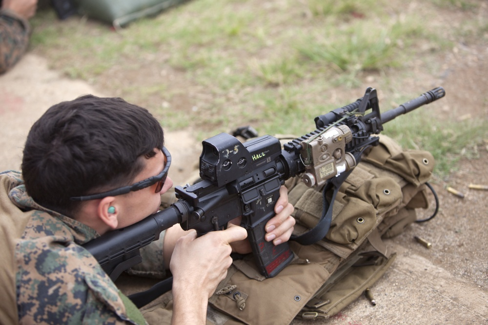 Loadout Room photo of the day | Maintaining marksmanship: Force Recon Marines fire away