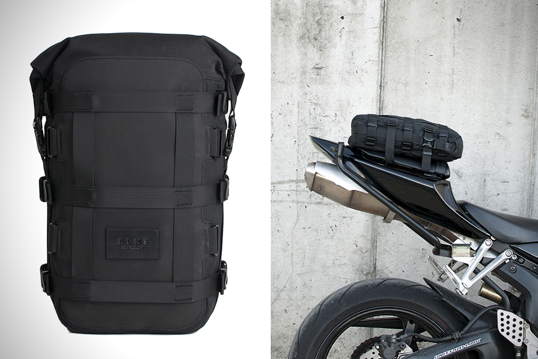 ALMS 12L motorcycle tail bag