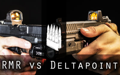 Watch: Trijicon RMR vs Leupold DeltaPoint Pro for handguns
