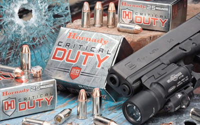 FBI Awards Hornady a Contract for Its Critical Duty Ammunition