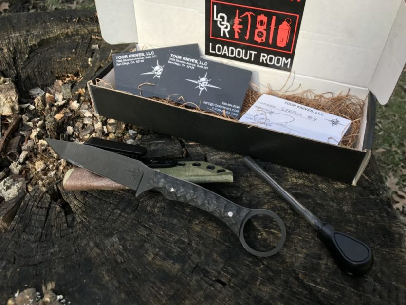 Toor Knives Serpent: Everyday carry defense tool