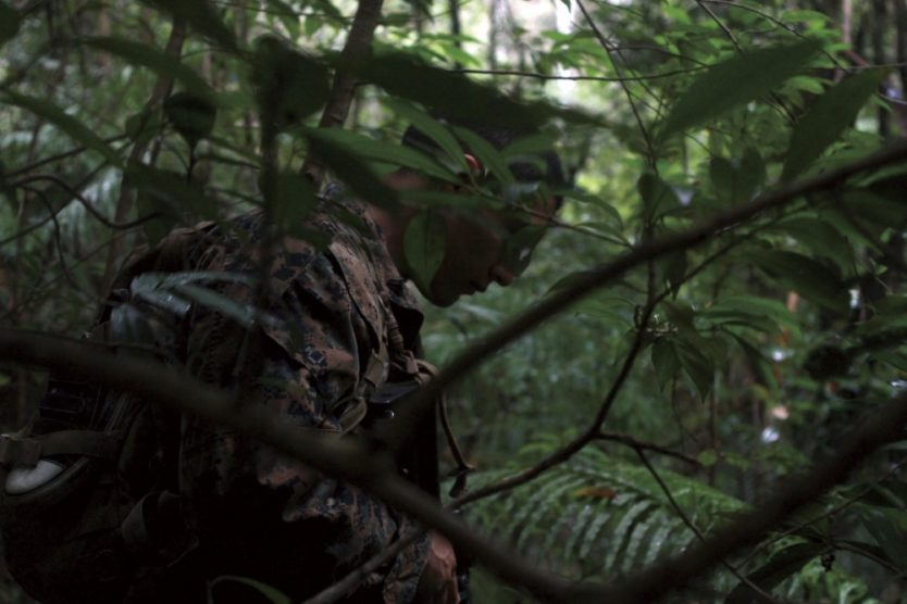 3rd Recon Marines learn Predator Techniques in the Combat Hunter Course